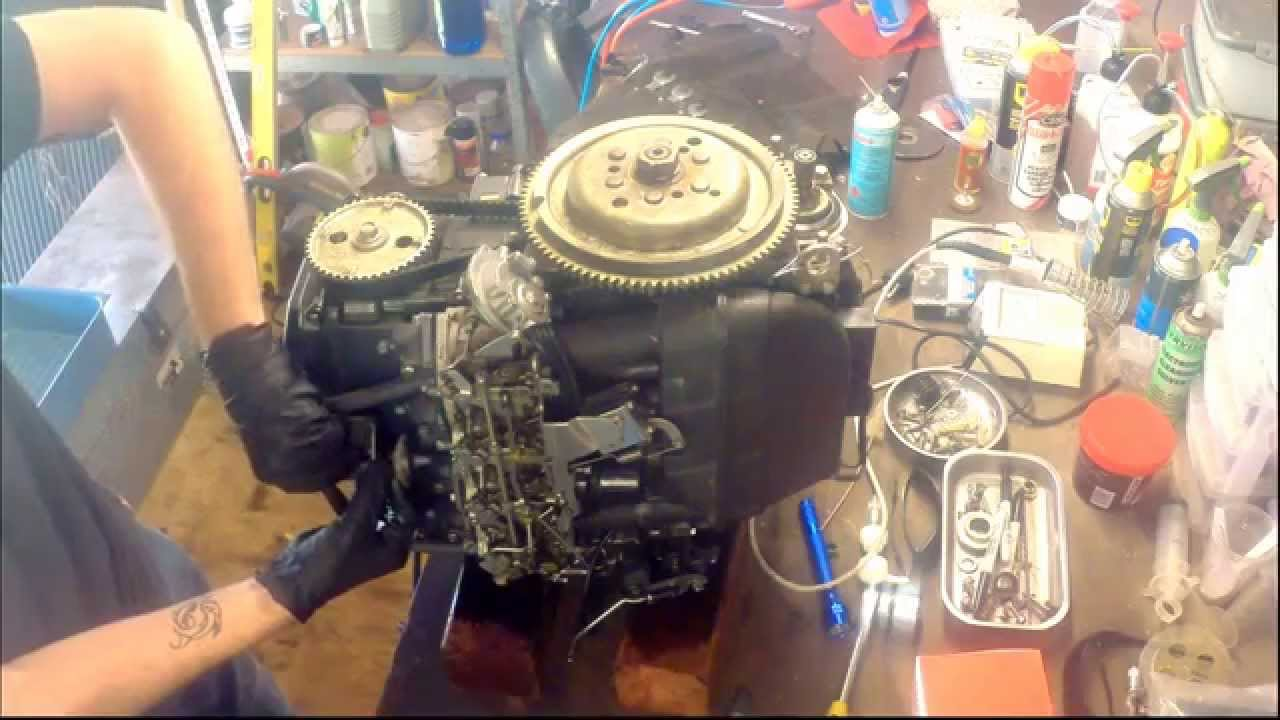 how to remove the cylinder head from a yamaha 50hp four stroke outboard motor youtube Electric Power Steering Diagram Power Steering Pump Diagram