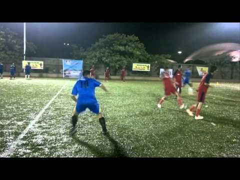 Corporate SoccerFest 2011 - RIL - Deloitte (2-1) on 11th June 2nd League Match