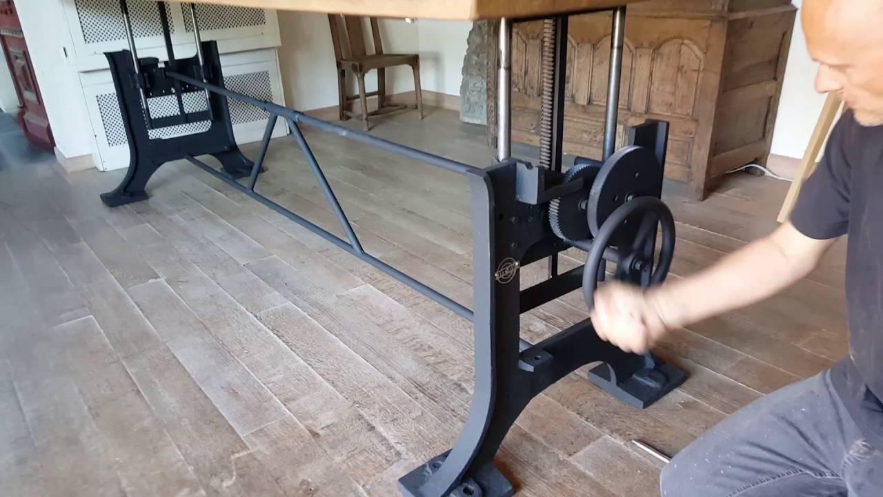 Limited edition 01 adjustable height table hoogte verstelbare