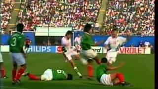 Футбол Мексико - България 1994 - Целият мач