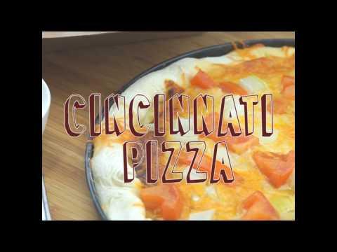Mogo Twists: Cincinnati Spaghetti Sauce Pizza