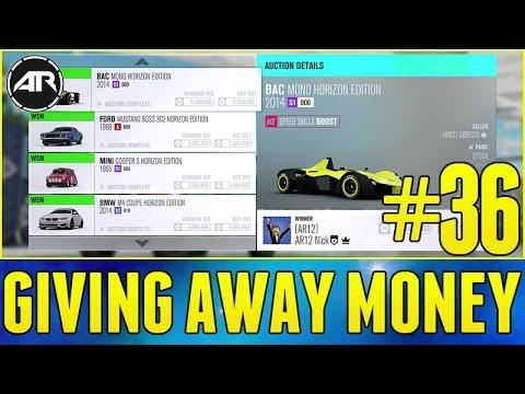forza horizon 3 how to get money