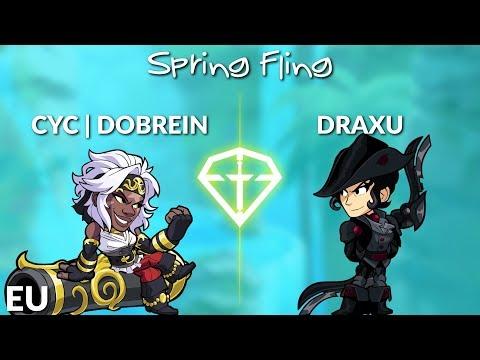 Dobrein Vs Draxu - EU 1v1 Top 3 - Brawl League Spring Fling
