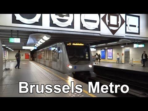 Brussels Metro - Métro de Bruxelles (2018)