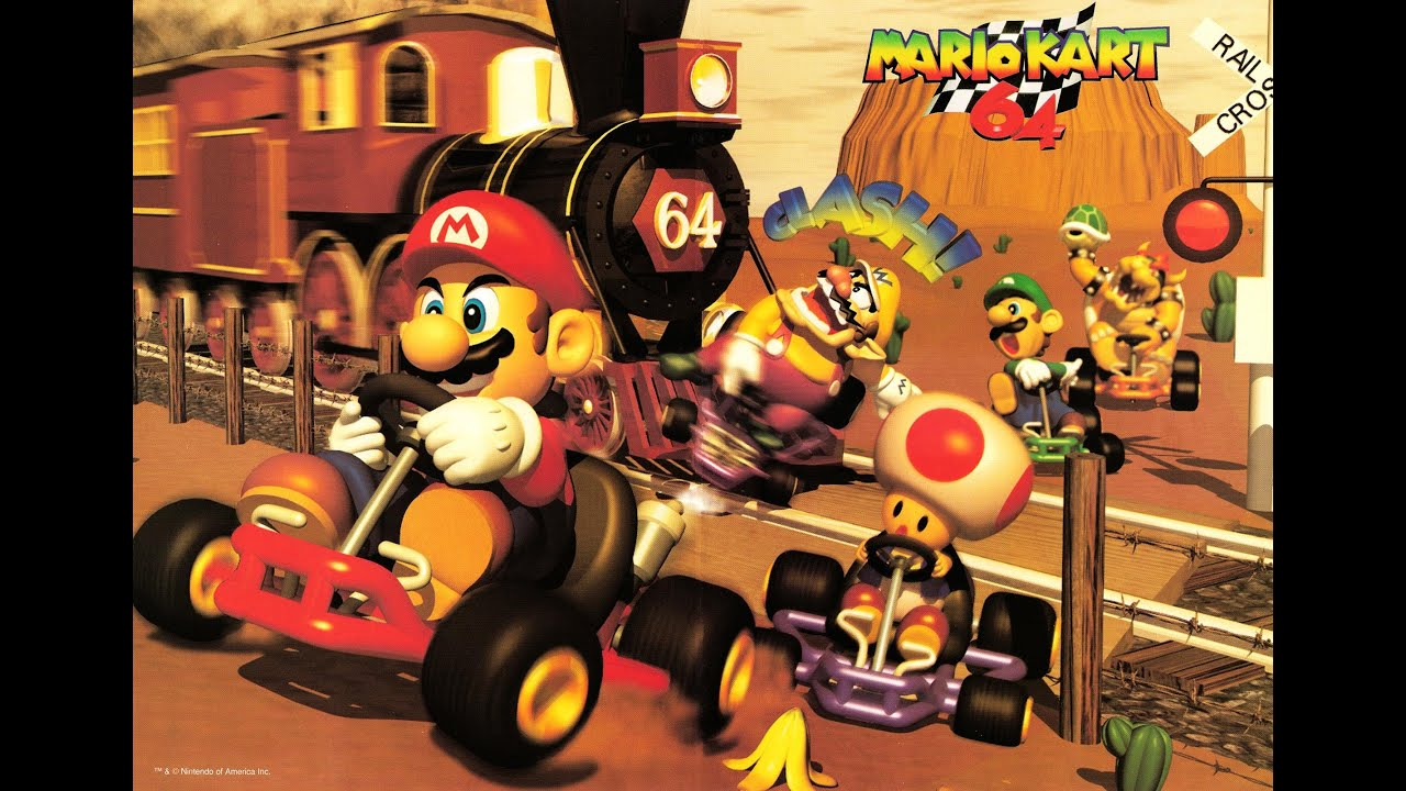 Mario Kart 64 Club Circuit Soundtrack - Year of Clean Water