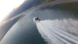 Jet Boat Racing Kiwi Style - Drifting on Water