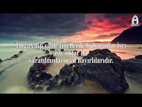 Beyyine Sûresi (Mealli) Abdullah ALTUN