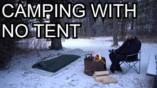 Winter Camping Under The Stars With Cheap Gear