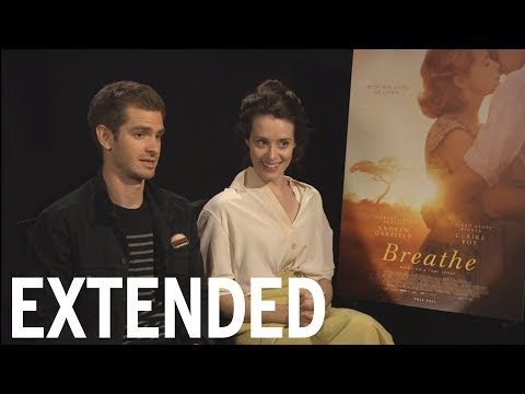 Andrew Garfield And Claire Foy Disagree On Love At First Sight | EXTENDED