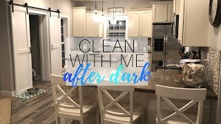 Relaxing Clean With Me After Dark | Nighttime Cleaning Motivation