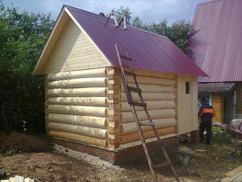Рубленные дома и бани из бревна Ручная рубка деревянных
