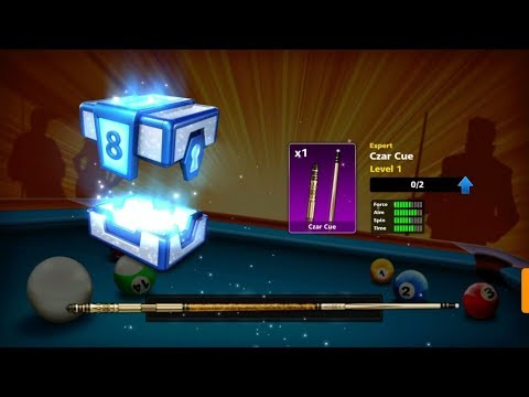 OMG! Czar Cue in Victory Boxes / 8 Ball Pool Berlin Platz 50M INDIRECT
