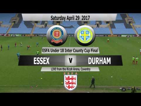 ESFA Under 18 Inter County Trophy Final: Essex v Durham
