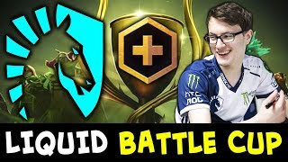 Liquid on Battle Cup — Miracle RAMPAGE