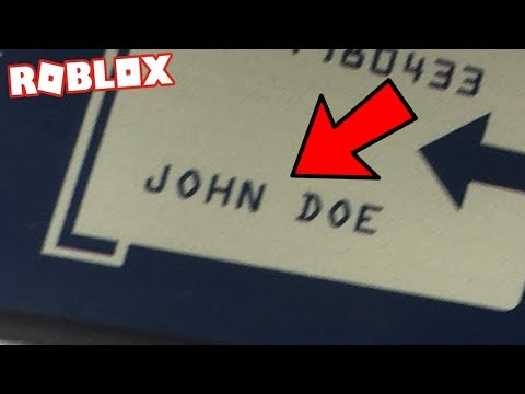 JOHN DOE IN REAL LIFE (Roblox Hacker)