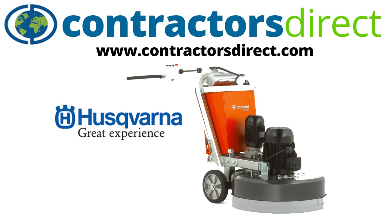 the new husqvarna remote-controlled concrete floor grinder - youtube
