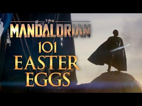 The Mandalorian - 101 Easter Eggs from Season One!