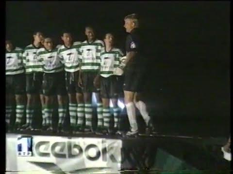 Sporting - 1 x Belenenses - 0 de 1999/2000 Particular Apresentacao