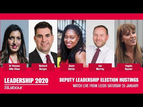 Deputy Leadership Hustings Live from Leeds