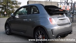 SOUND! 2015 FIAT 500c Abarth test drive