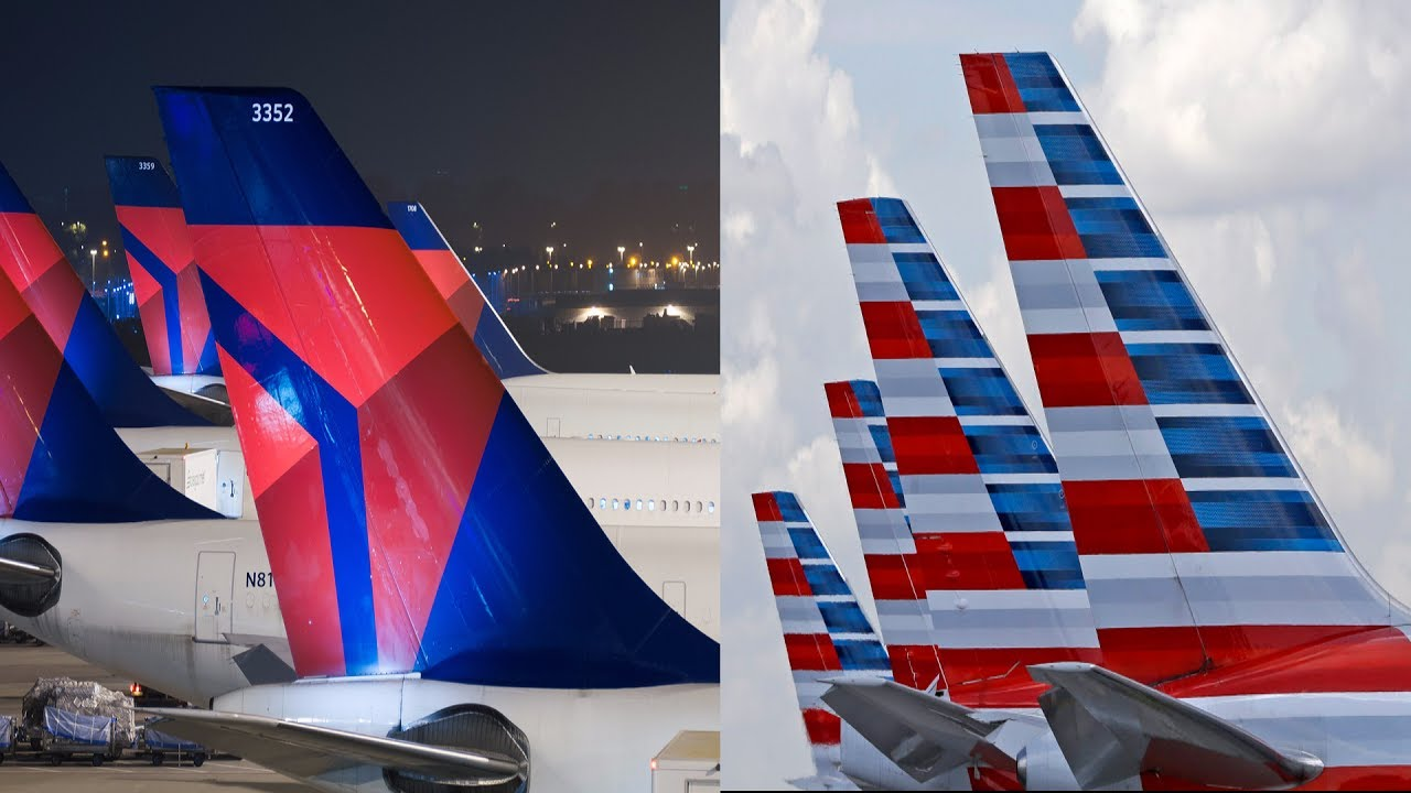 American Airlines Vs Delta Airlines Youtube