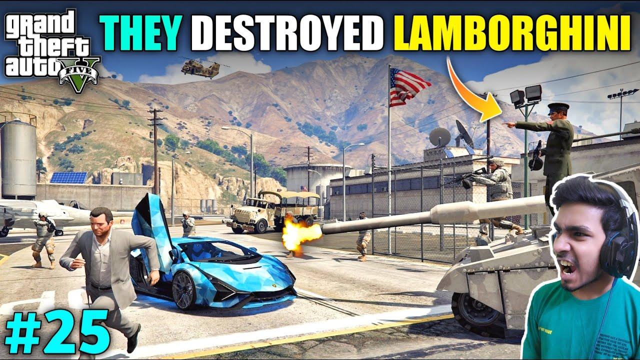I LOST MY LAMBORGHINI TO SAVE HIM   GTA V GAMEPLAY #25 thumbnail