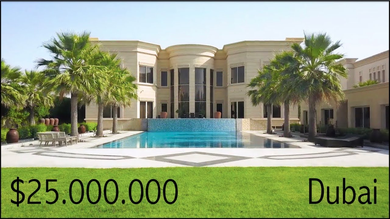 Inside a 25 million dubai mega mansion emirates hills for Mansion house price