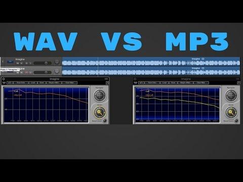 MP3 vs wav, aiff, flac (y cualquier formato sin compresión) Comparación especifica en Español