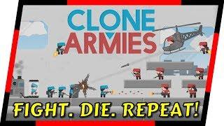 Clone Armies - FUN MULTIPLAYER 2D ACTION GAME | MGQ Ep. 142