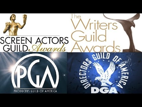 Screen Actors Guild Awards, Producers Guild, Writers Guild & Directors Guild Predictions(1-21-17)