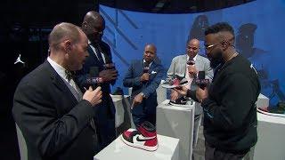 Chuck praises Michael Jordan's Shoe Legacy   Outside The NBA