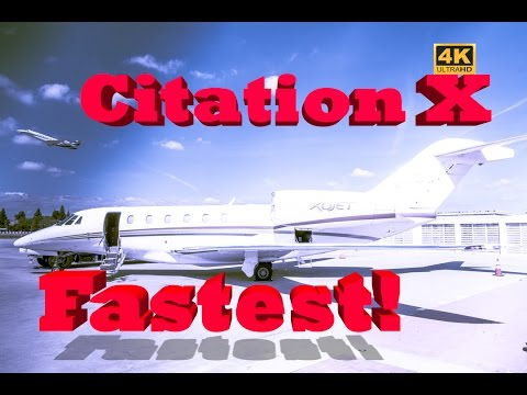 Citation X - Fastest Private Jet to the Grand Canyon
