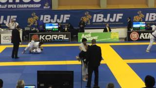 Shaiz Khan vs Samuel Padron Castellano - IBJJF 2015 European Open 23/01/2015