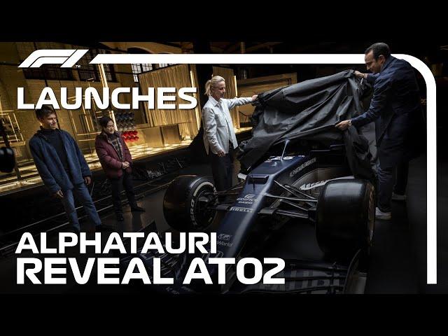 AlphaTauri Reveal Their 2021 Car: The AT02