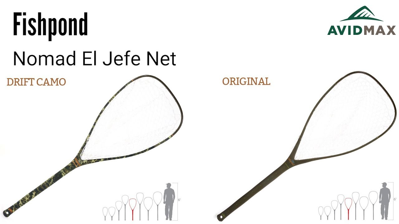 Fishpond Nomad El Jefe Net