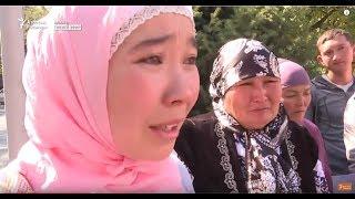 Қытайда туыстары қамалған адамдар БҰҰ-ның Алматыдағы өкілдігі алдына келді
