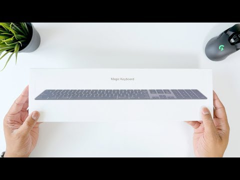 Apple Space Gray Magic Keyboard Unboxing