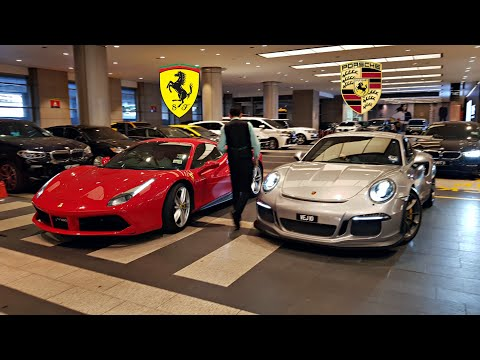SUPERCARS OF MALAYSIA - Real Life vs Video Game?