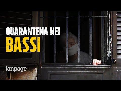 Coronavirus, a Napoli la quarantena nei bassi: 'È come stare in galera, non ce la facciamo più'