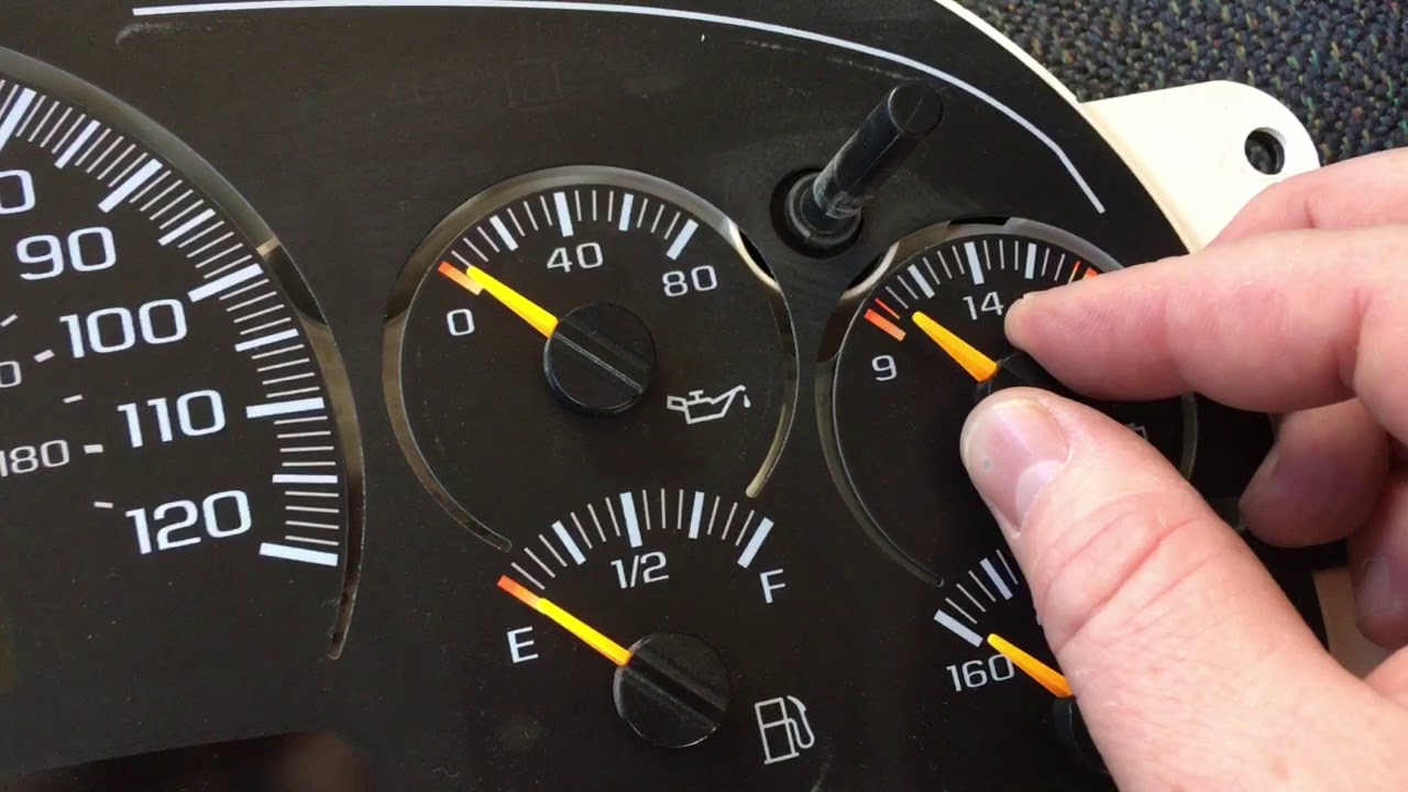 Chevy Silverado Gauges Not Working