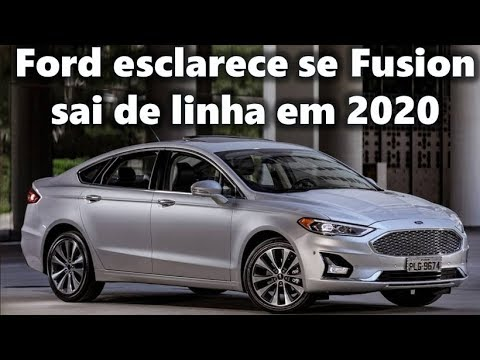 Ford Esclarece Se Fusion Sai De Linha Em 2020 Nos Eua Youtube