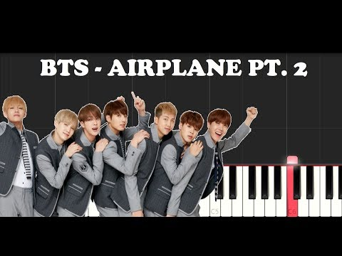 BTS - Airplane Pt.2 (Piano Tutorial)