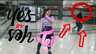 """[KPOP IN PUBLIC CHALLENGE] TWICE(트와이스) """"YES or YES"""" Dance Cover -ANNIE RUBIO"""