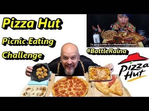 #battleraina---pizza-hut-picnic-eating-challenge-w/raina-huang,-wayne-&-katina