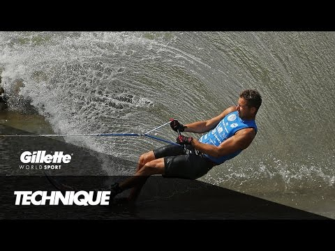 Precision Technique in Slalom Water Ski | Gillette World Sport