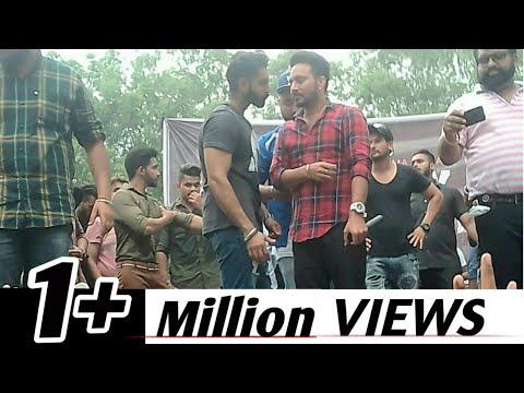 Parmish verma live stage  fight | S.c.d Government college
