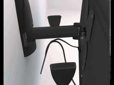 Meliconi STILE Wall-Mounted TV Brackets - YouTube
