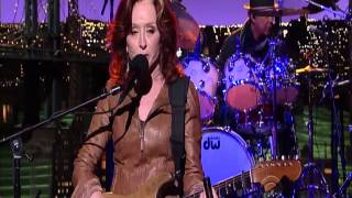 BONNIE RAITT - right down the line (DL Late Show 2012)