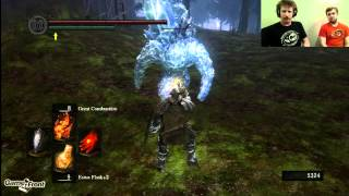 Dark Souls With James PT. 137 - First Glance at the Crystal Caves