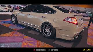 Nissan Teana J32 Widebody at Race Day Thailand 2017